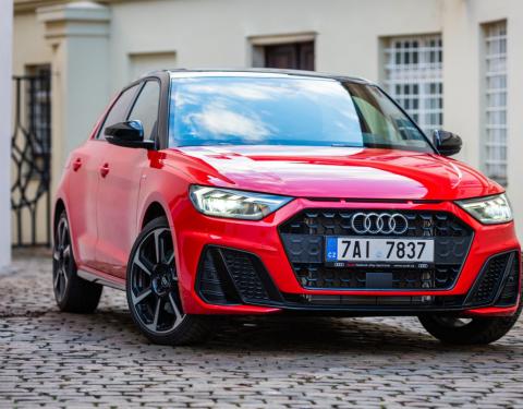 Nový vůz Audi již od 5 999 Kč bez DPH měsíčně