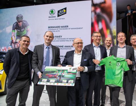 ŠKODA na Tour de France do roku 2023