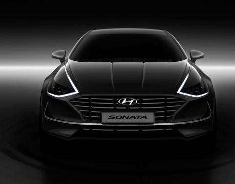 První pohled na nový Hyundai Sonata