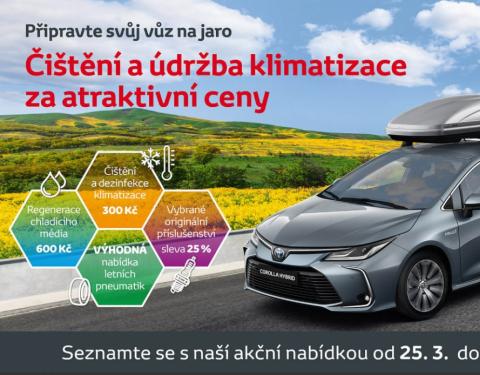 Toyota připravuje vozy na jaro za výhodné ceny