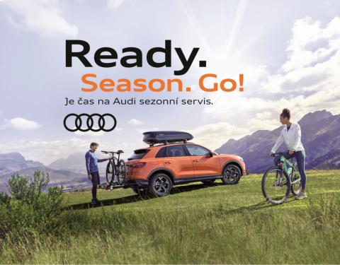 Je čas na Audi sezonní servis