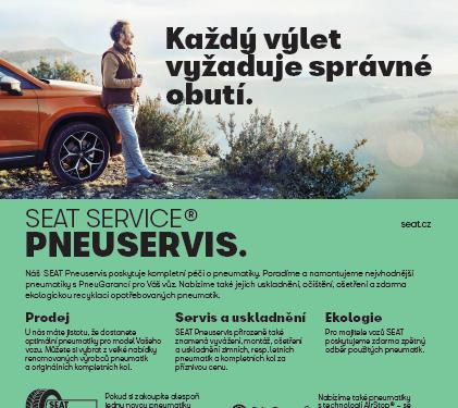 SEAT Service usnadní cestování za dobrodružstvím