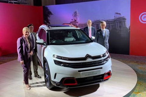 Citroën vyráží dobýt indický trh