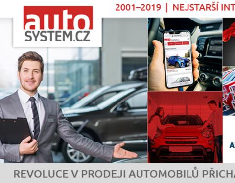 AUTOSYSTEM.CZ je nejstarší internetový a mobilní autosalon se skladovými vozy v ČR