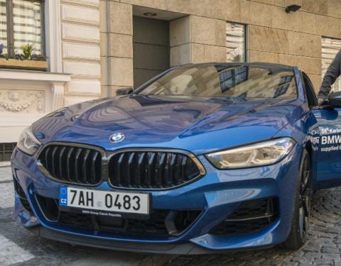 BMW opět na Mezinárodním filmovém festivalu Karlovy Vary.
