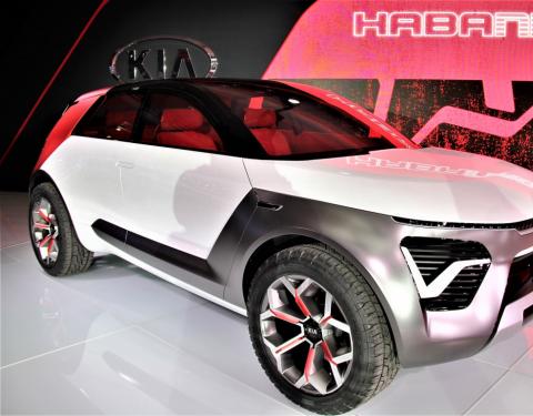Kia HabaNiro: pikantní vize budoucích elektromobilů