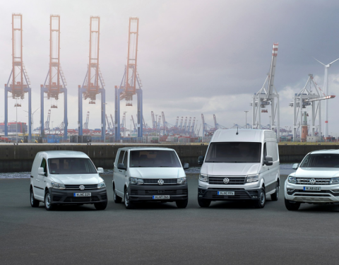 Volkswagen Užitkové vozy upevňuje pozici jedničky