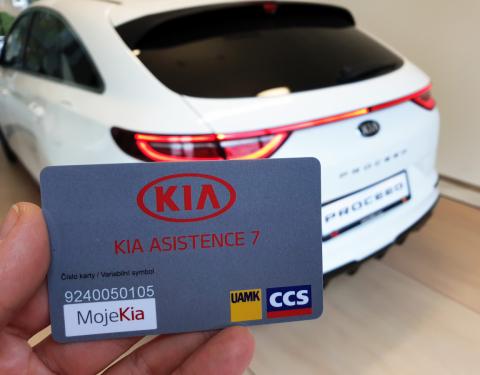 Kia rozšiřuje výhody služby KIA ASISTENCE 7