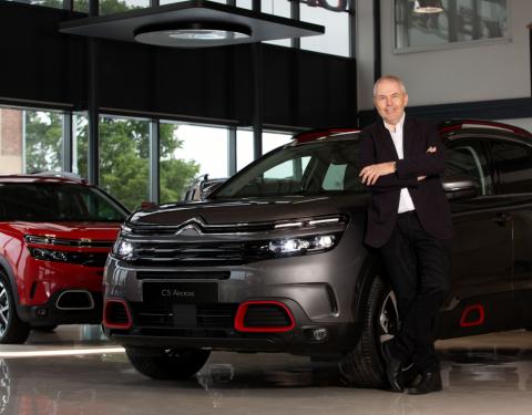 Marek Eben zůstává věrný značce Citroën