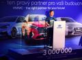 Hyundai Motor Manufacturing Czech slaví tři miliony vyrobených aut