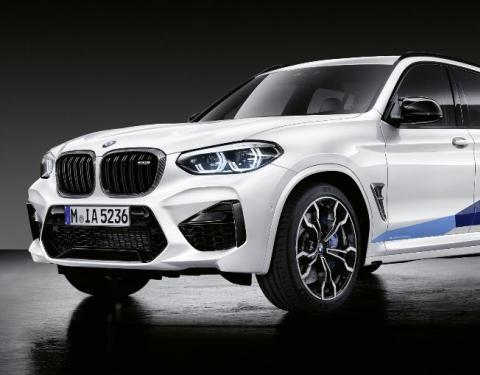 M Performance Parts pro BMW X3 M a X4 M