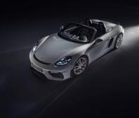 Nové špičkové sportovní vozy s atmosférickými motory: Porsche 718 Spyder a 718 Cayman GT4