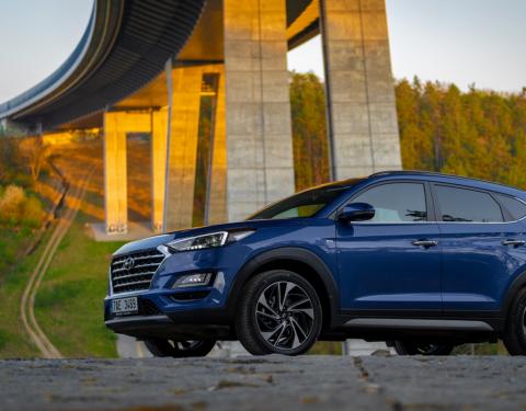 Hyundai Tucson - nejlepší dovážený rodinný vůz v Německu