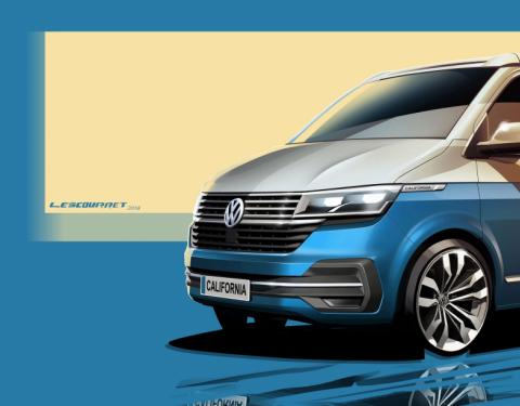 Modernizace ikonického kempovacího vozu Volkswagen