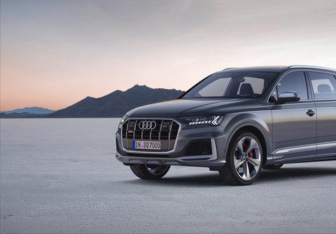 V nové vrcholné formě: Audi SQ7 TDI
