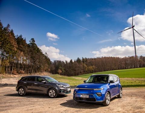 Kia spouští předprodej zcela nových elektromobilů e-NIRO a e-SOUL