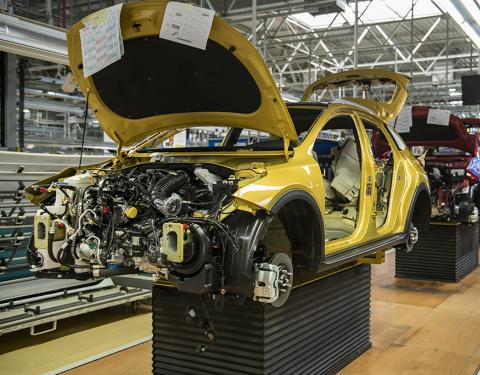 Kia XCeed: zahájení sériové výroby
