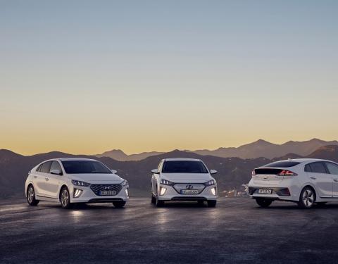 Nový Hyundai IONIQ obhájil pět hvězdiček v nárazových testech Euro NCAP