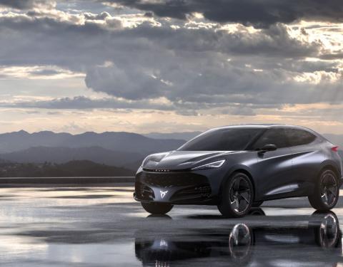CUPRA ukazuje svou vizi elektromobilem CUPRA Tavascan Concept