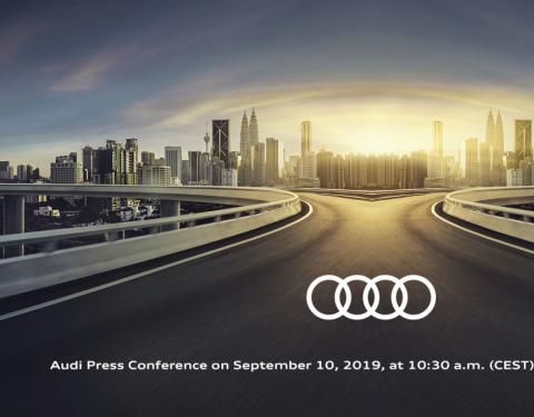 Audi na IAA 2019 ve Frankfurtu