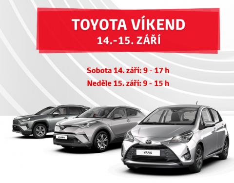 Toyota Víkend přináší akční nabídku na nové generace legendárních modelů