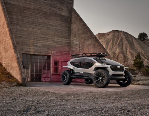 Terénní automobil na cestě do budoucnosti – Audi AI:TRAIL quattro