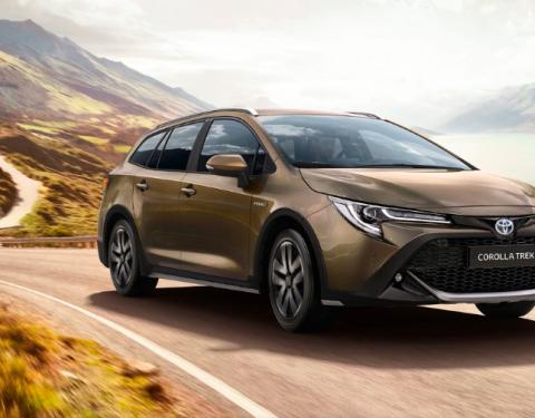 Nová Toyota Corolla TREK podporuje aktivní životní styl