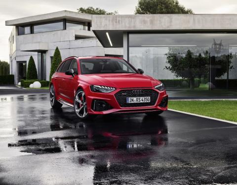 Supersportovní kombi: Nové Audi RS 4 Avant