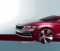 ŠKODA ukázala designové skici nové generace modelu OCTAVIA