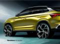ŠKODA zveřejnila designové skici nového SUV-kupé KAMIQ GT pro Čínu