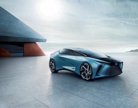 Lexus představuje svou vizi elektrifikace v novém konceptu LF-30 Electrified