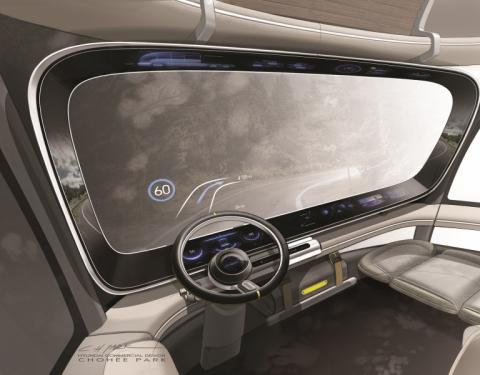 Hyundai představil studii HDC-6 NEPTUNE, nákladní vozidlo s nulovými emisemi CO2