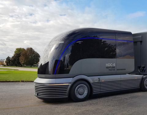 Expozice Hyundai na veletrhu NACV reprezentuje strategii FCEV Vision 2030