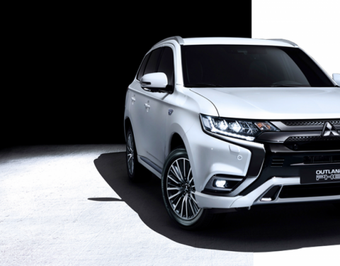 Mitsubishi na E-salonu 2019 ukáže nový Outlander PHEV