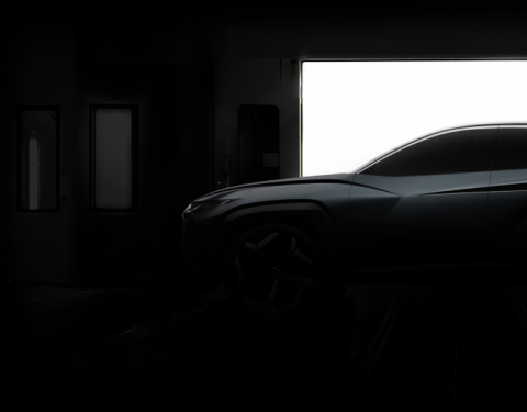 Hyundai zveřejnil náhled studie plug-in SUV