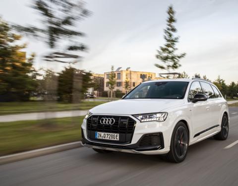 Luxus, prostor a hospodárnost: Audi Q7 TFSI e quattro