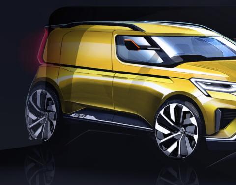 Volkswagen Užitkové vozy představí v únoru 2020 ve světové premiéře nový model Caddy