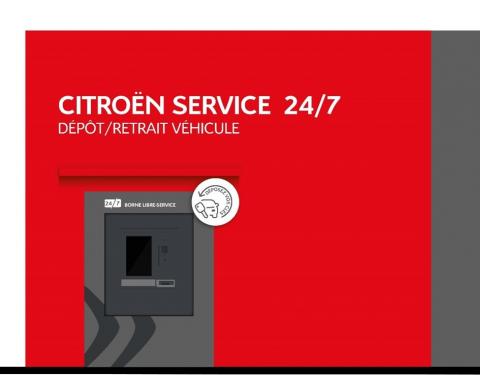 CITROËN inovuje a nabízí nepřetržitou dostupnost servisu svých vozů