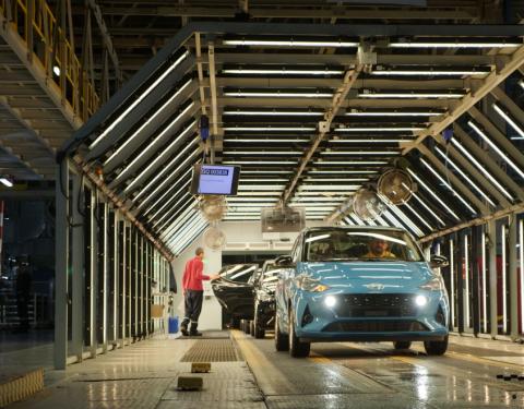 Hyundai zahajuje v Evropě výrobu zcela nového modelu i10