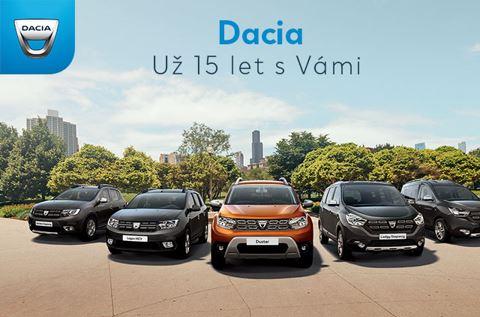 Dacia slaví 15 let