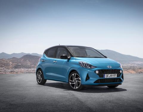 "Zcela nový Hyundai i10 ""Šampionem zůstatkové hodnoty 2020"""