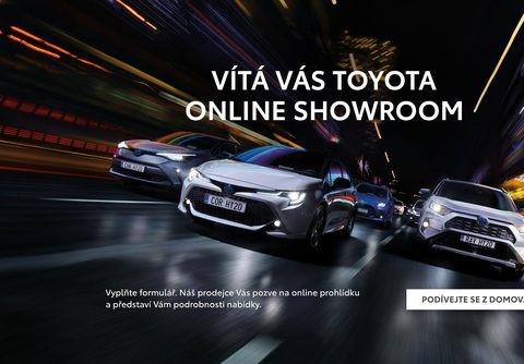Toyota v Česku spouští unikátní virtuální showroom