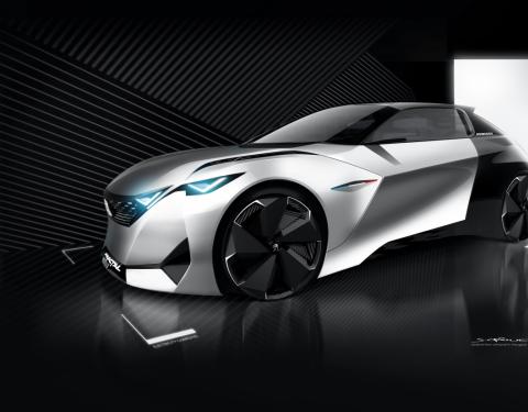 Peugeot koncepční vozy