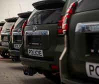 Toyota Land Cruiser: Policie ČR převzala prvních 12 terénních vozů