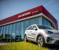 KIA e-Niro ve službách E.ON Energie