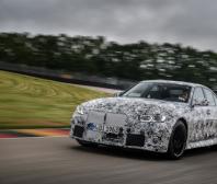 Nové BMW M3 Sedan a nové BMW M4 Coupé na závodním okruhu