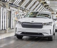 ŠKODA AUTO zahajuje v Mladé Boleslavi sériovou výrobu modelu ENYAQ iV