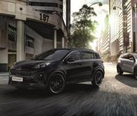 Kia Sportage nově ve stylovém provedení Black Edition