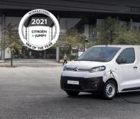 """Citroën ë-Jumpy získal ocenění """"Mezinárodní dodávka roku 2021"""""""