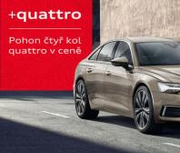 "Audi ""quattro v ceně vozu"""